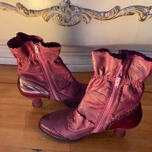 Neosens ankle leather  boots Size 40